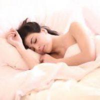 woman sleeping to promote mental health